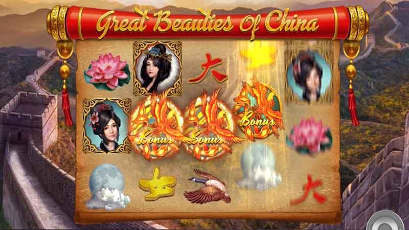 ธีมและแนวคิดสล็อต Great Beauties China