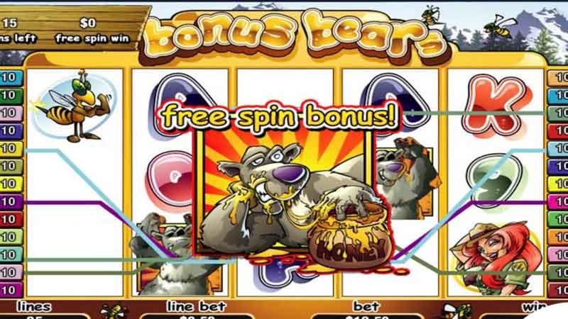 สล็อตน่าเล่นเกม Bonus Bears slot