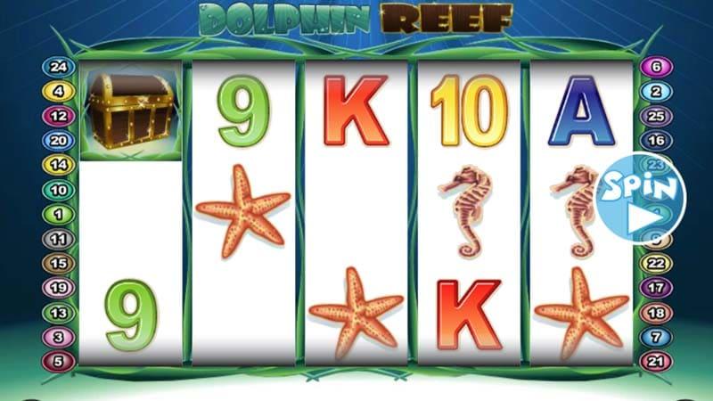 รางวัลใหญ่ สล็อต Dolphin Reef