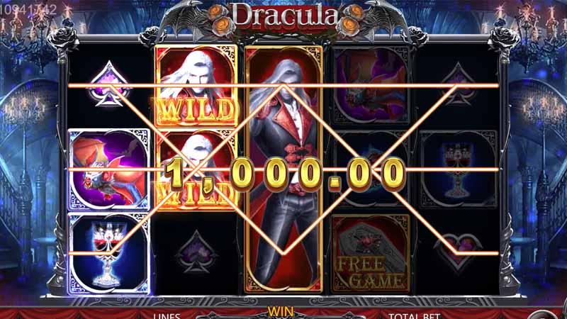 รีวิวเกมสล็อต Dracula slot