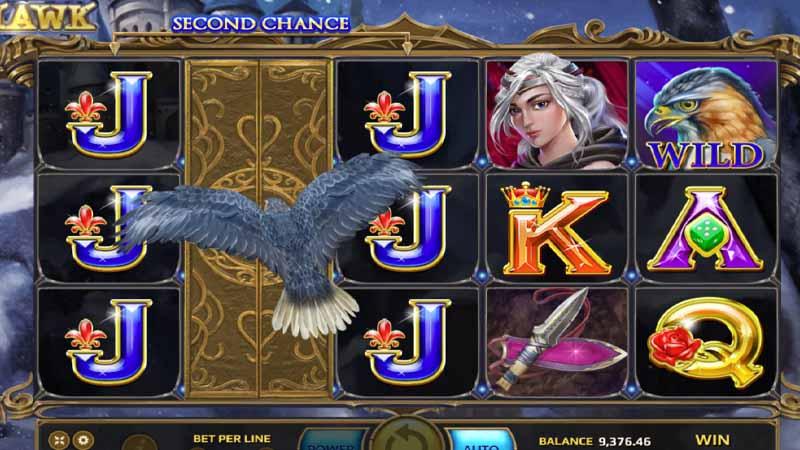 สล็อตออนไลน์มือถือ มาใหม่ LadyHawk slot
