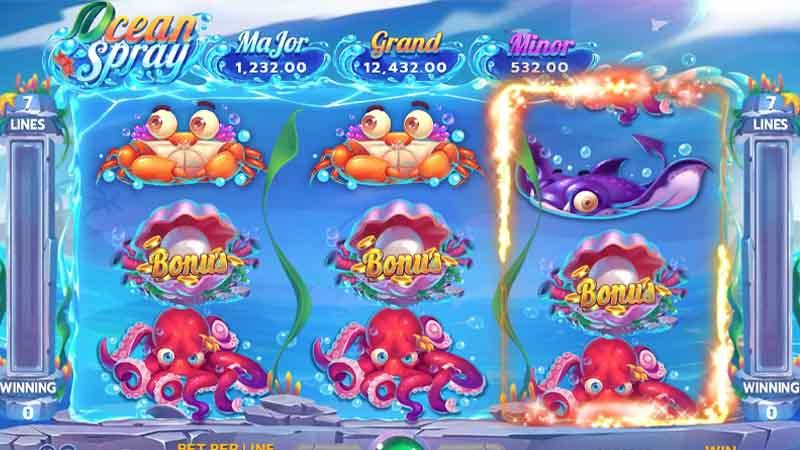 แนะนำเกม Ocean Spray slot