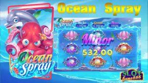 สล็อตออนไลน์ เกมใ Ocean Spray slot