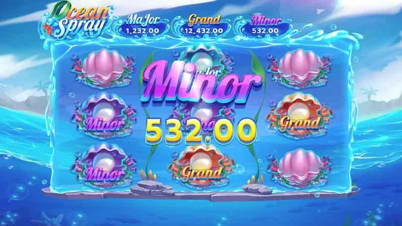 สล็อตออนไลน์ แนะนำเกม Ocean Spray slot
