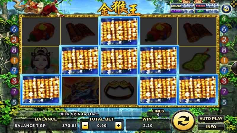แนะนำเกม Golden Monkey King
