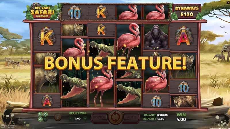 รีวิว Big Game Safari slot
