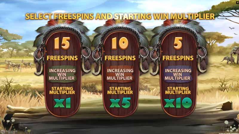 แนะนำเกม Big Game Safari slot