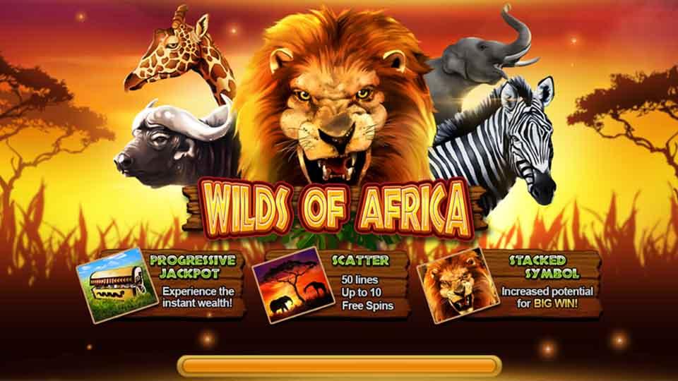 รีวิวสล็อต Wilds of Africa slot