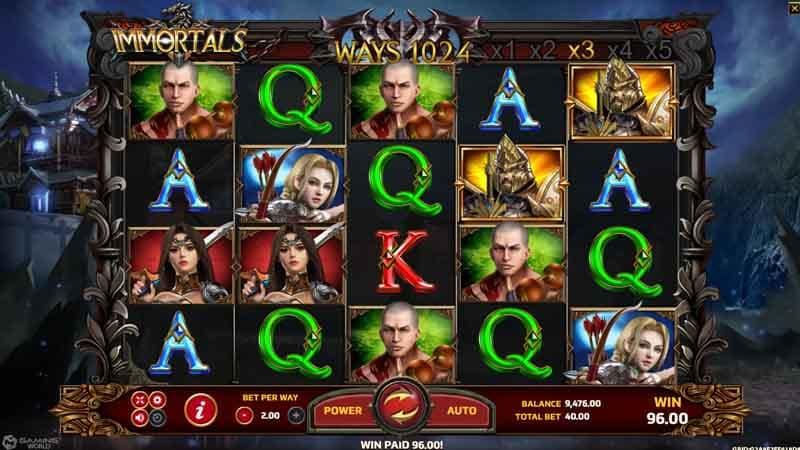 เล่น สล็อต Immortals slot